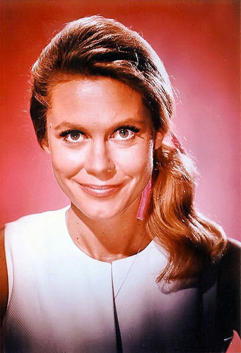 Bewitched wallpaper with a portrait called Elizabeth Montgomery - Samantha Stephens