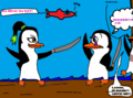 Fangirl Fight!!!! (Kowalski edition!)