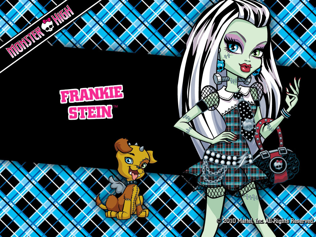 Monster High Frankie Stein Wallpaper 1024x768   800x600