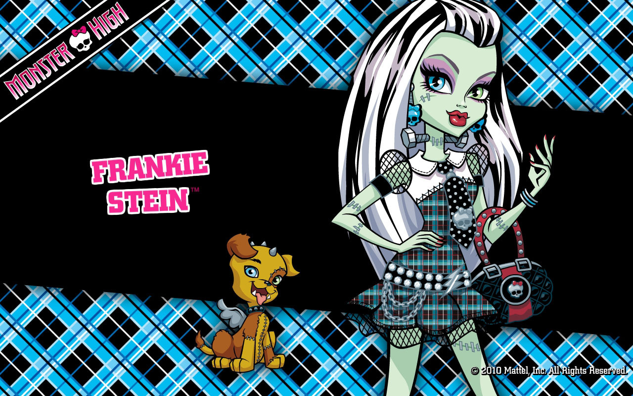 Monster High Frankie Stein Wallpaper 1280x800