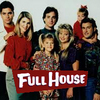 full house foto possibly with a portrait titled Full House Cast