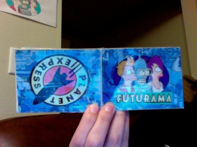 Arts N Crafts Images Futurama Paper Wallet Wallpaper And