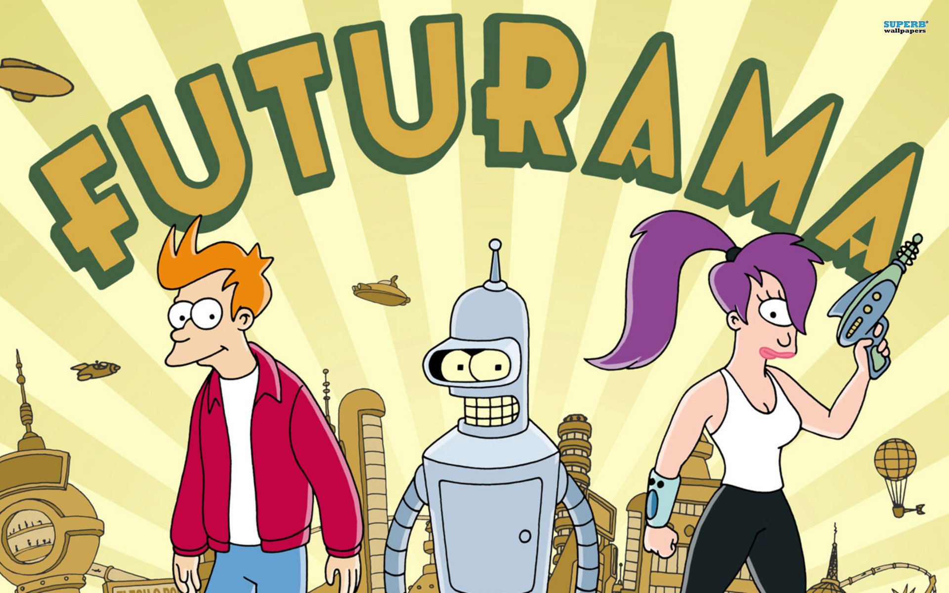 Simpsons vs Futurama