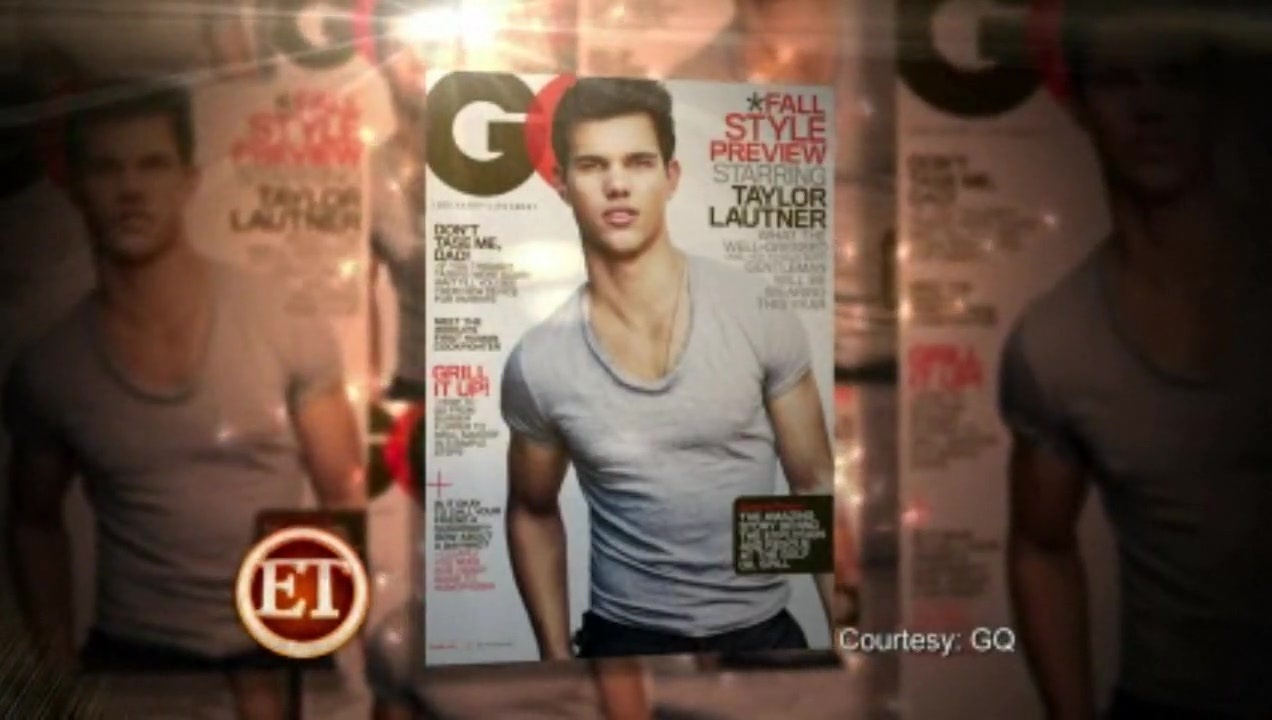 Taylor lautner gq magazine about