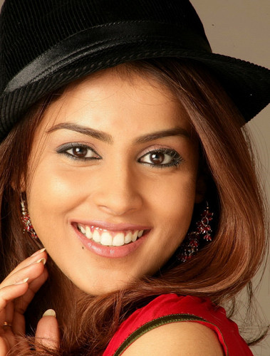 Bollywood wallpaper possibly containing a fedora, a boater, and a portrait entitled Genelia