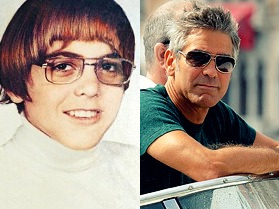 George Clooney - now & then