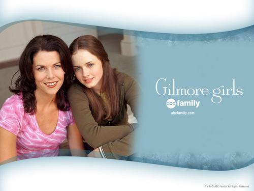 Gilmore Girls fond d'écran containing a portrait titled Gilmore Girls
