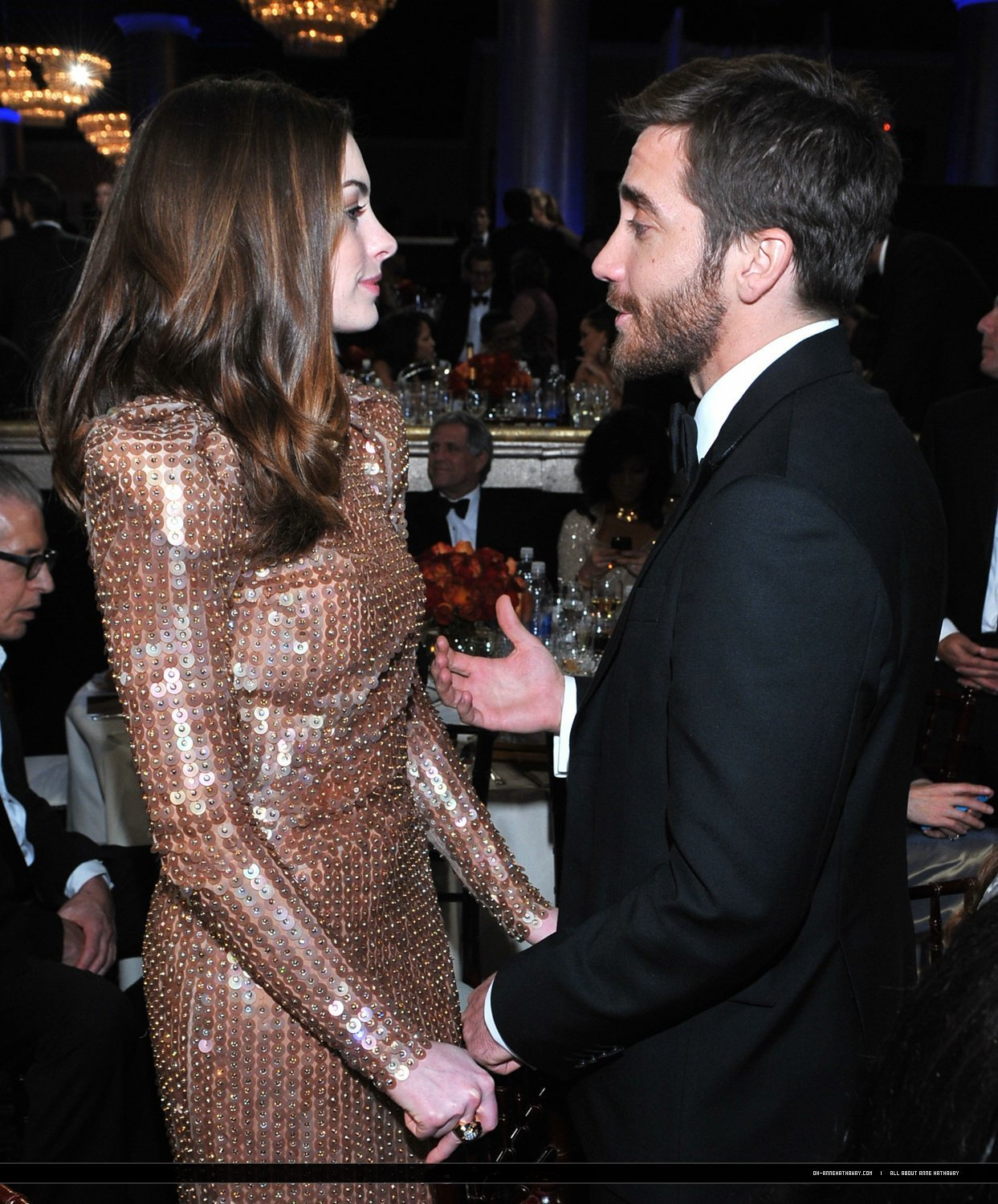 Anne Hathaway And Jake Gyllenhaal Images Golden Globes HD