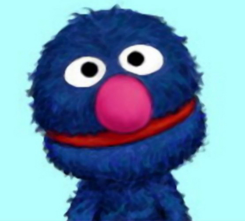 Grover cute face