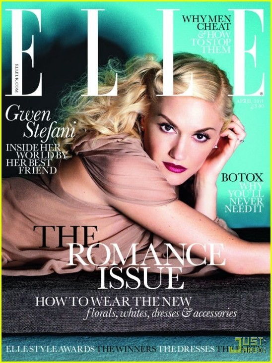 gwen stefani elle magazine 2011. Gwen Stefani Covers #39;Elle UK#39;