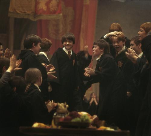 Gryffindors cheering :))