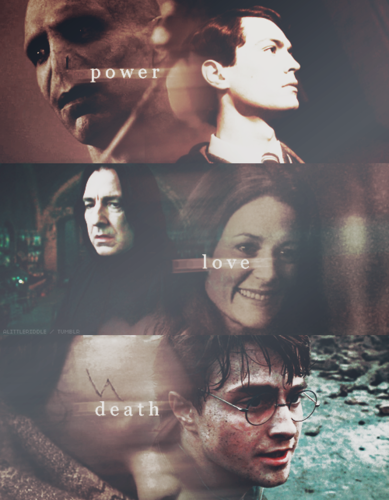 Voldemort, Snape & Harry :))