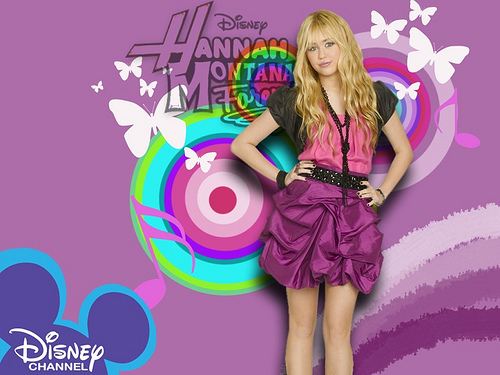 Hannah Montana wallpaper probably containing a cocktail dress called Hannah montana wallpaper!