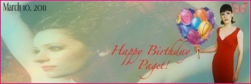 Happy Birthday Paget Banner!