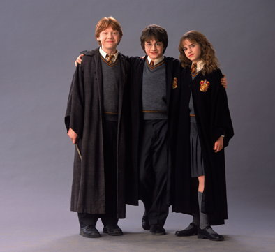 Hermione Granger wallpaper entitled Harry,Ron and Hermione