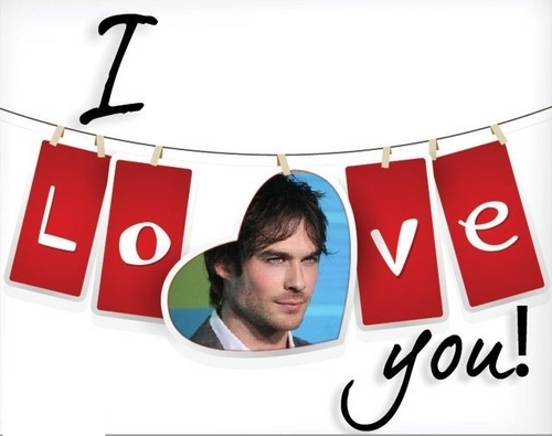 I amor you Damon
