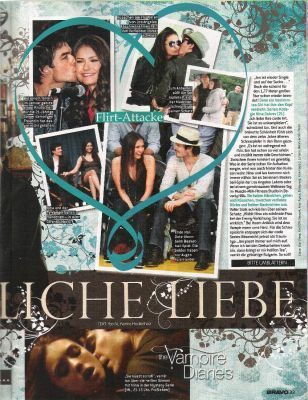 Ian & Nina magazine scans (Germany)