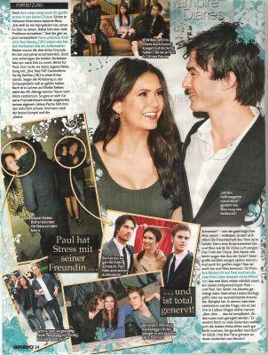 Ian & Nina magazine scans (Germany)