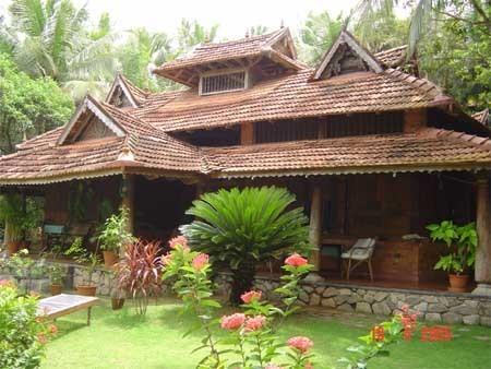 India kerala photo 20006176 fanpop for Garden house in india