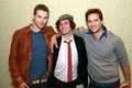 Jackson Rathbone,Kellan Lutz and Peter Facinelli