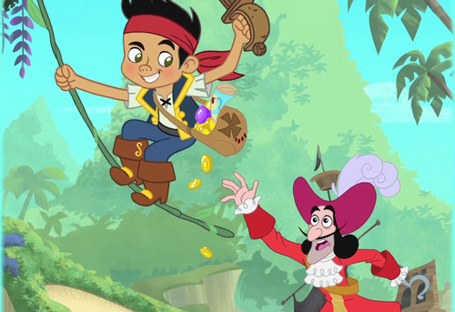 Jake and the Never Land Pirates images Jake and Captain Hook HD wallpaper and background photos