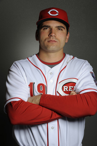 Joey Votto 2011 Photo Day CIN
