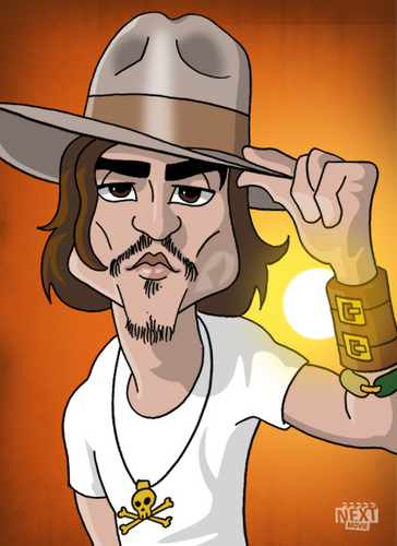 Johnny Depp Caricature