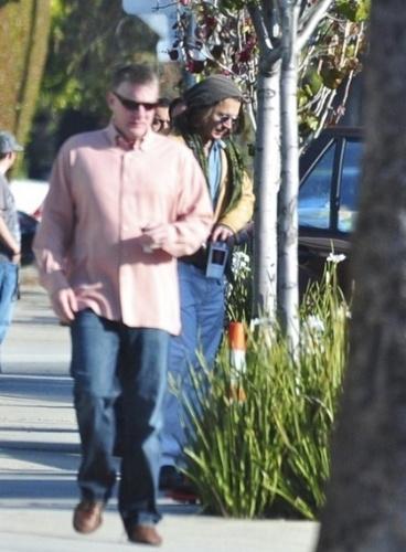 Johnny Depp In Los Angeles - March 11 - 2011