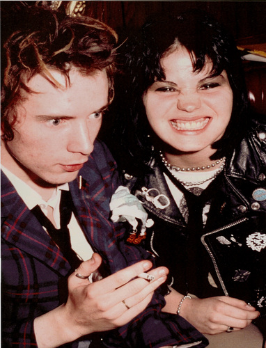 Johnny Rotten And Joan Jett ♥ :D