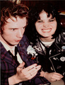 Johnny Rotten And Joan Jett ♥ :D - joan-jett photo