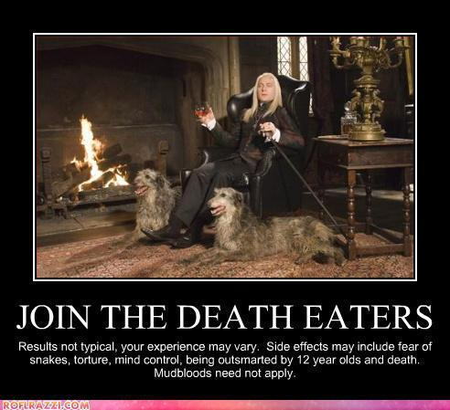 cadastrar-se the Death Eaters