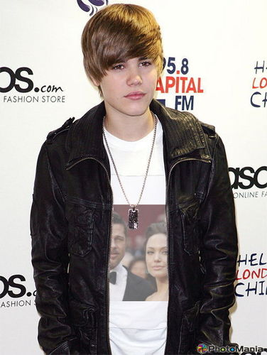 Justin Bieber with 你