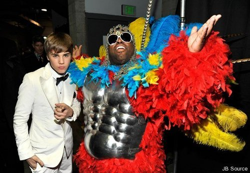 Justin bieber at grammys