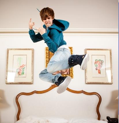 Justin crazy bieber <3