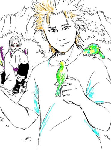 Juugo and Kimimaro