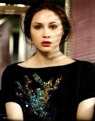 Karen Gillan Marie Claire Magazine фото shoot