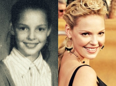 Katherine Heigl - now & then