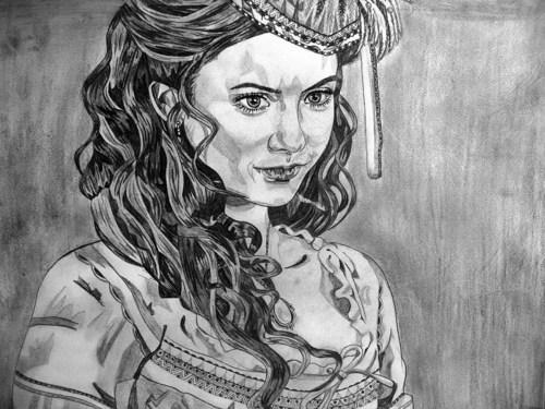 Katherine Pierce Sketch