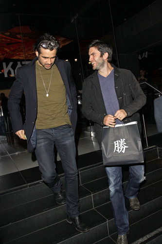 Katsuya with Colin Farrell