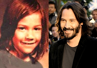 Keanu Reeves - now & then
