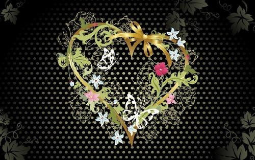 Cinta kertas dinding entitled Cinta