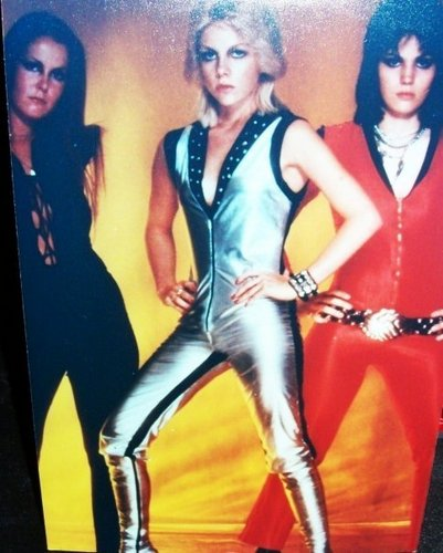 Lita Ford, Cherie Currie and Joan Jett