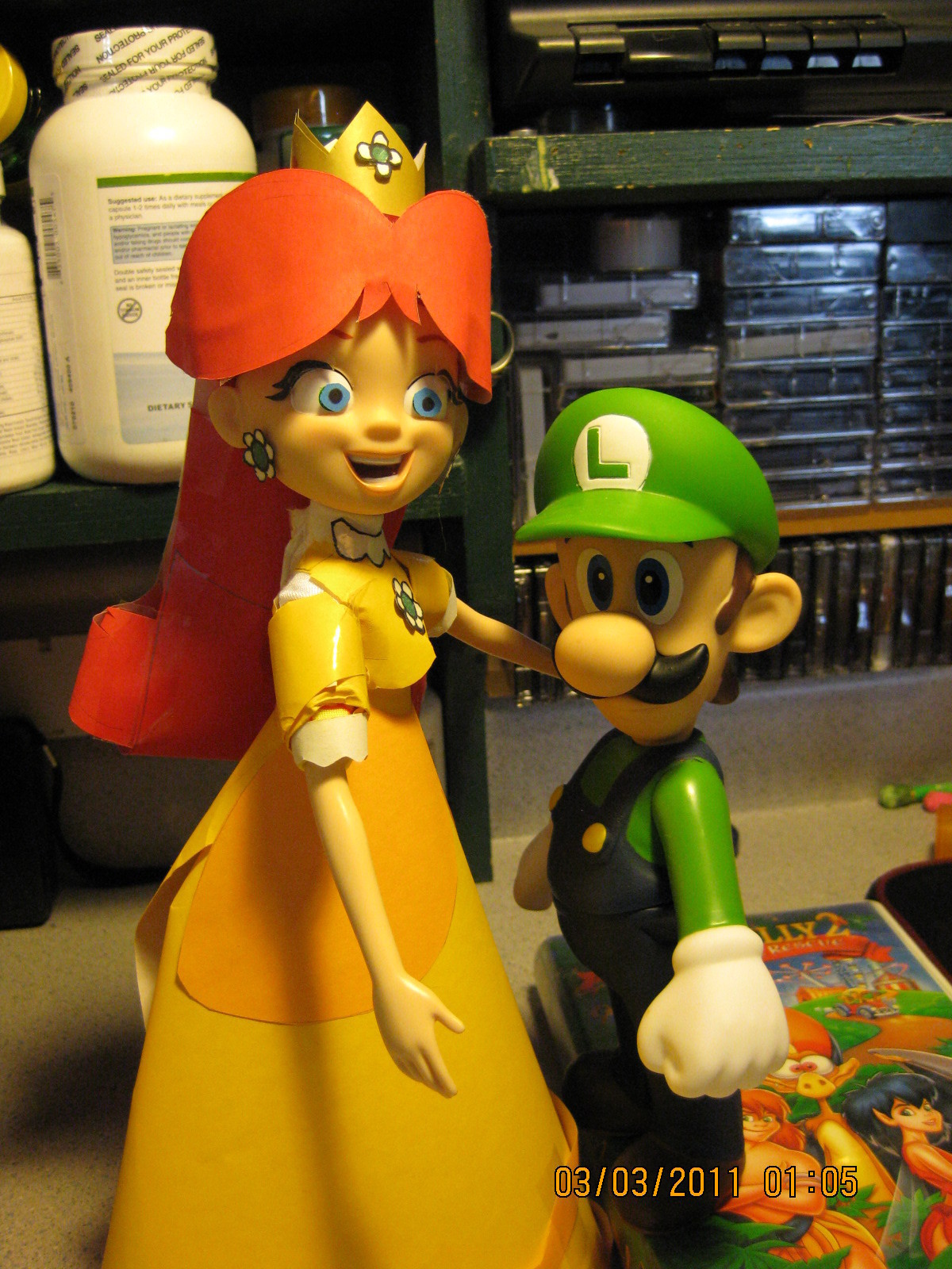 Luigi And Daisy Princess Daisy Photo 20041318 Fanpop