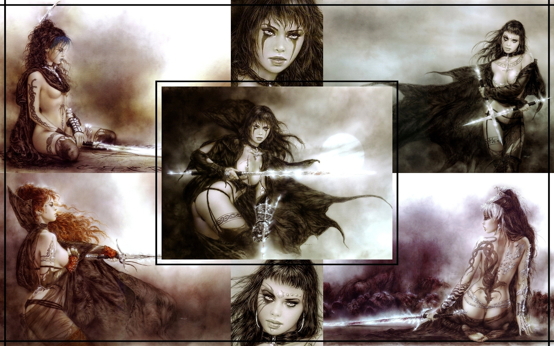 Amato BD immagini Luis Royo HD wallpaper and background foto (20099428) ST11