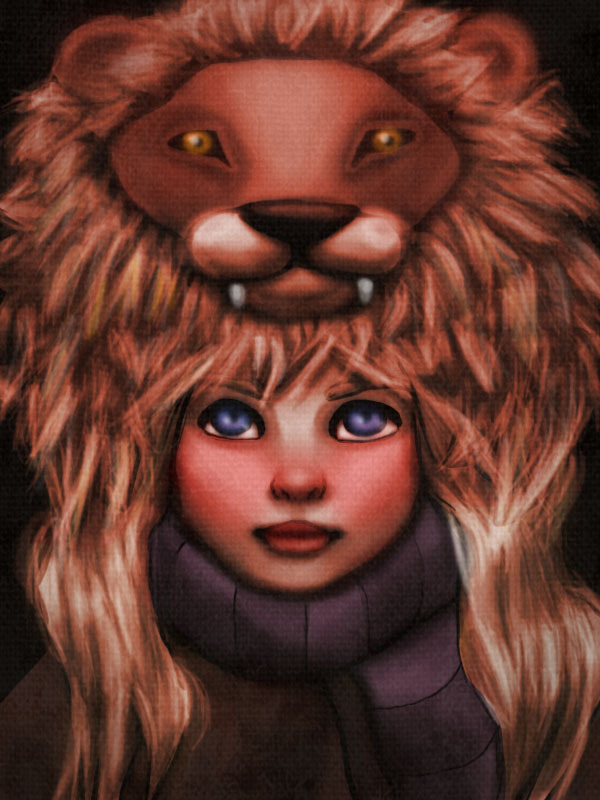 Luna's Lion Hat