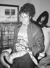 MJ with animals and friends