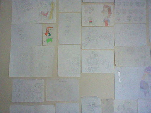 MY TOTAL DRAMA WALL!!!!!