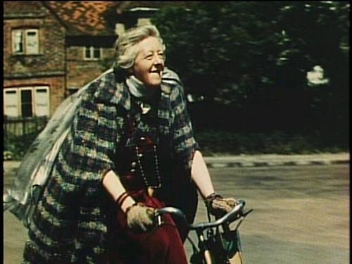 Margaret Rutherford as Madamn Arcati in Blithe Spirit 1945