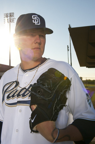 Mat Latos 2011 photo jour SD Padres