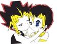 Me and Yami - anime fan art